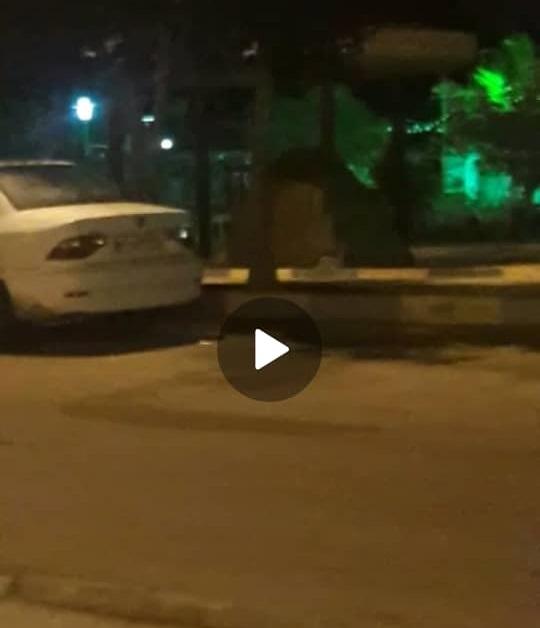 نصب چادر بیخ گوش استاندار نماینده عالی دولت و رئیس ستاد مقابله با کرونا در هرمزگان
