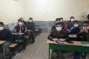تمام دانش آموزان از ماسک رایگان برخوردار شدند
