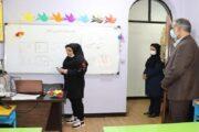 بازدید سرزده مسئولان از دبستان همای جاوید نام اهواز