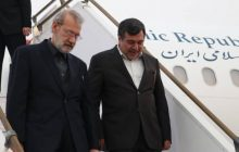 رئیس مجلس شورای اسلامی با استقبال استاندار هرمزگان وارد بندرعباس شد