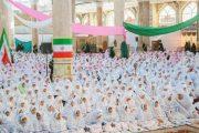 برگزاری جشن تکلیف ۱۰ هزار دانش آموز دختر کلاس سوم ابتدایی در شیراز