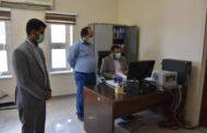بازدید سرزده رئیس کل دادگستری هرمزگان از دو حوزه قضایی شرق استان